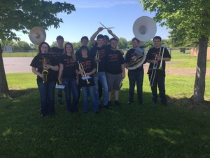 High School Band in State Competition T-shirts